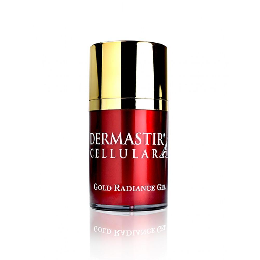 Антивозрастной гель для лица Dermastir Gold Luxury collection gold gel