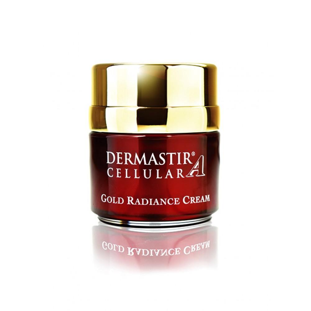 Антивозрастной крем для лица Dermastir Gold Luxury collection gold cream