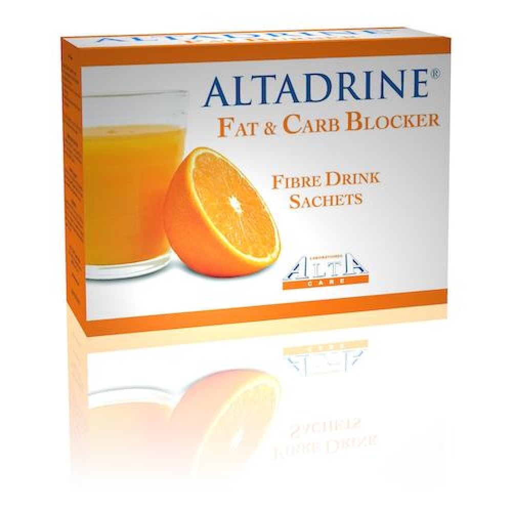 Блокатор жиров и углеводов Altadrine fat and carb blocker Alta Care