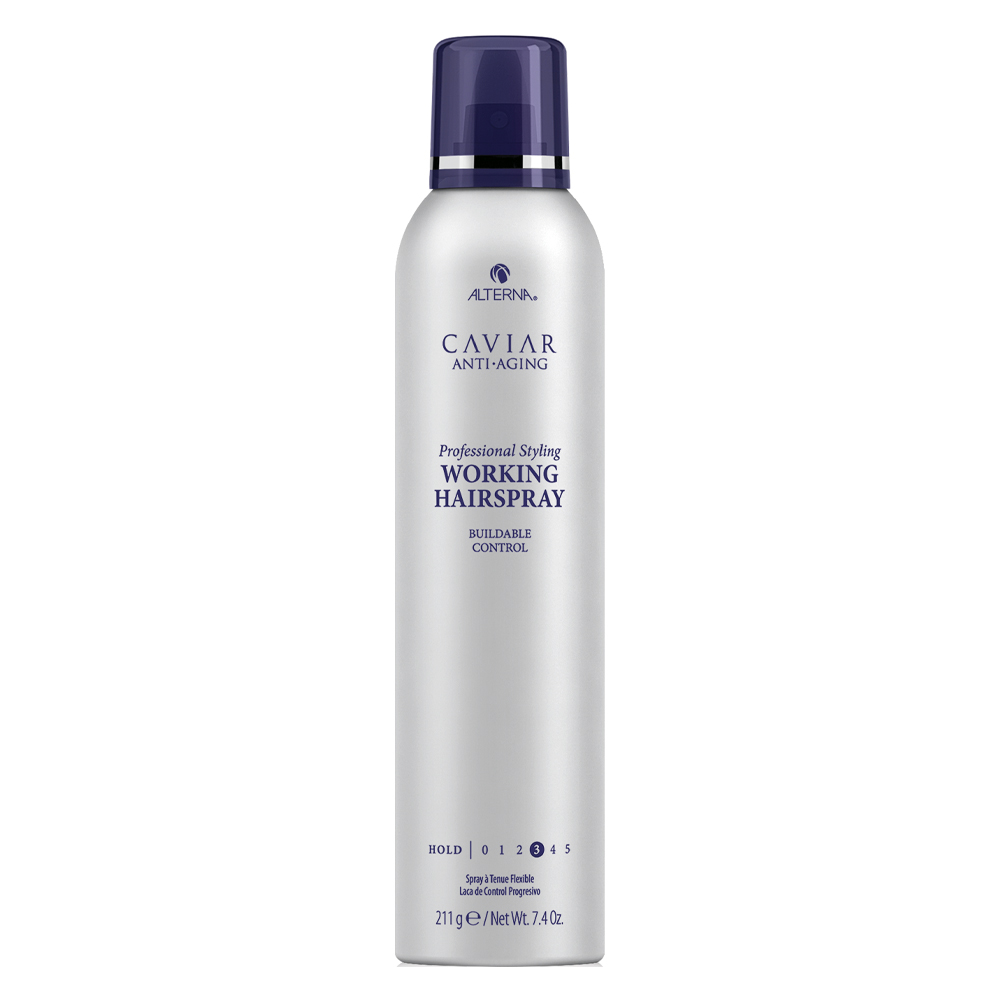 Лак для волос с экстрактом черной икры Alterna Caviar Professional Styling Working Hairspray