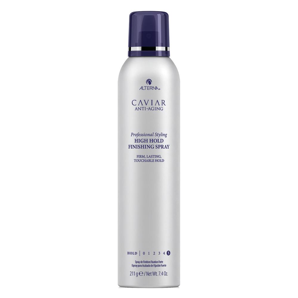 Спрей для волос сильной фиксации с экстрактом черной икры без Alterna Caviar Professional Styling High Hold Finishing Spray