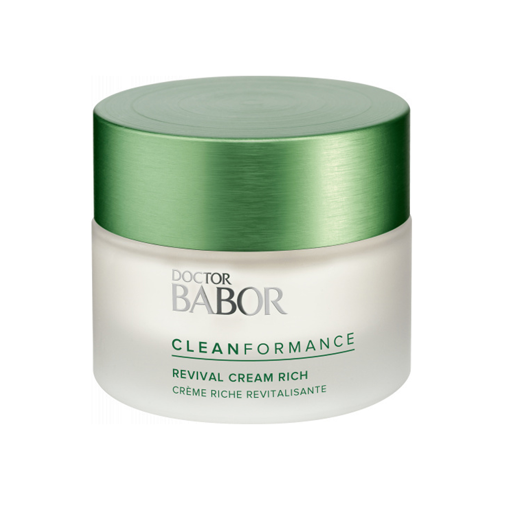 Разглаживающий крем рич против морщин BABOR CLEANFORMANCE Revival Cream Rich
