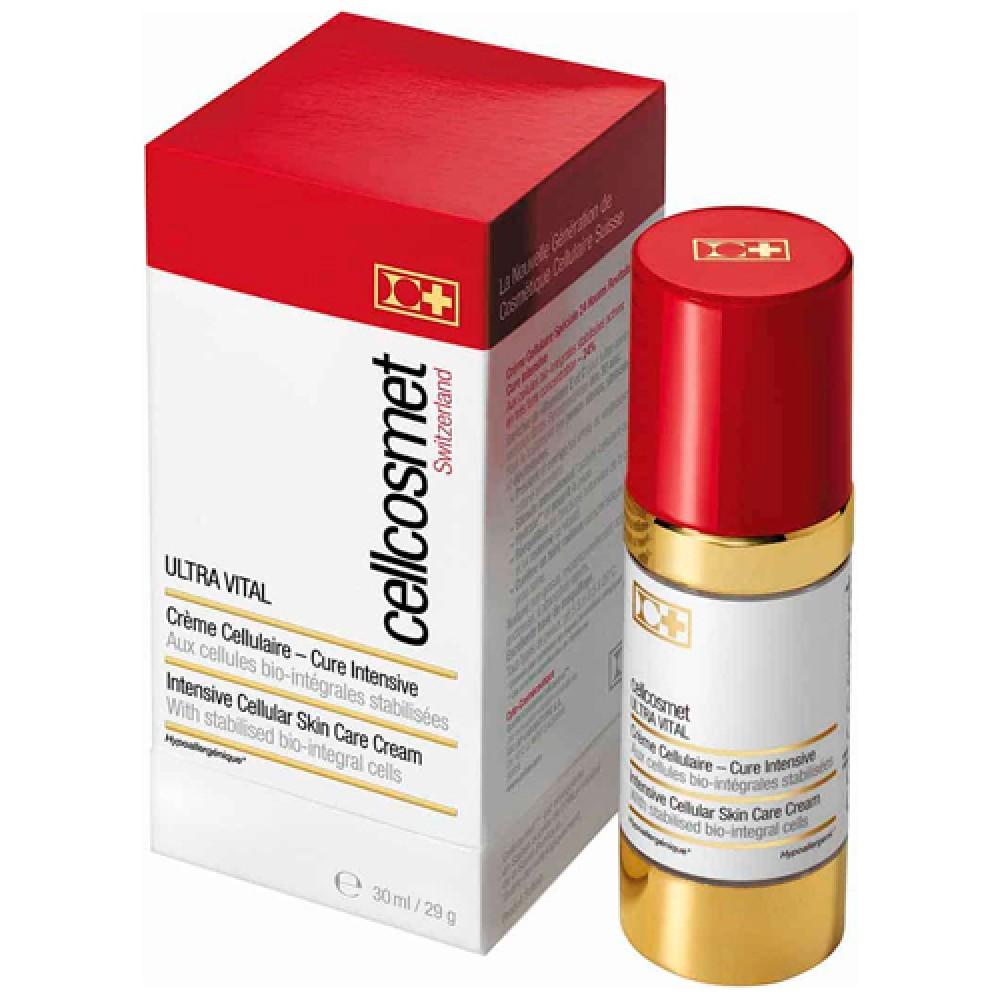 Крем для интенсивного воздействия ультравитальный с дозатором Cellcosmet Ultra Vital 24 Hour Cream
