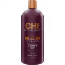 Шампунь для поврежденных волос CHI Deep Brilliance Optimum Moisture Shampoo