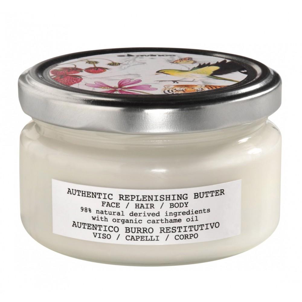 Восстанавливающее масло для лица, волос и тела Davines Authentic Replenishing Butter