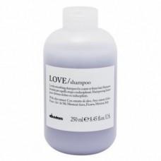 Разглаживающий завиток шампунь Davines Love Lovely Smoothing Shampoo