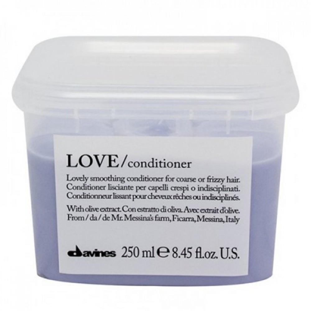 Кондиционер для разглаживания завитка Davines Love Lovely Smoothing Conditioner