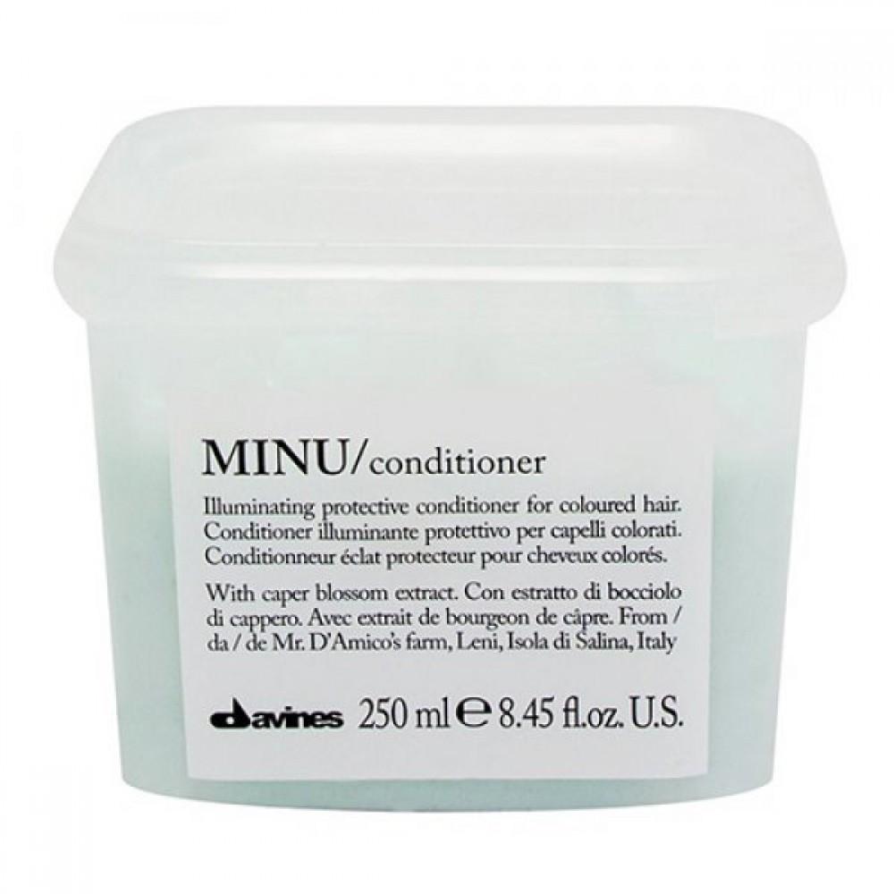 Кондиционер для придания блеска и защиты цвета волос Davines Minu Conditioner