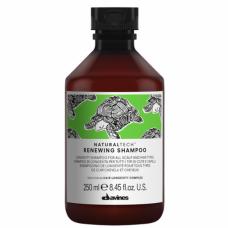 Обновляющий шампунь против старения кожи головы и волос Davines Natural Tech Renewing Shampoo