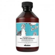 Увлажняющий шампунь для всех типов волос Davines Natural Tech Well Being Shampoo