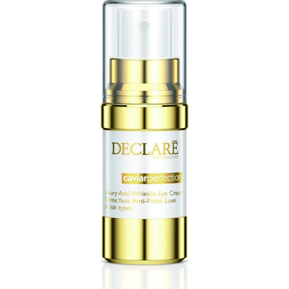 Восстанавливающий крем против морщин для кожи вокруг глаз Declare Luxury Anti-Wrinkle Eye Cream