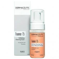 Отшелушивающая очищающая пенка Dermaceutic Foamer 15