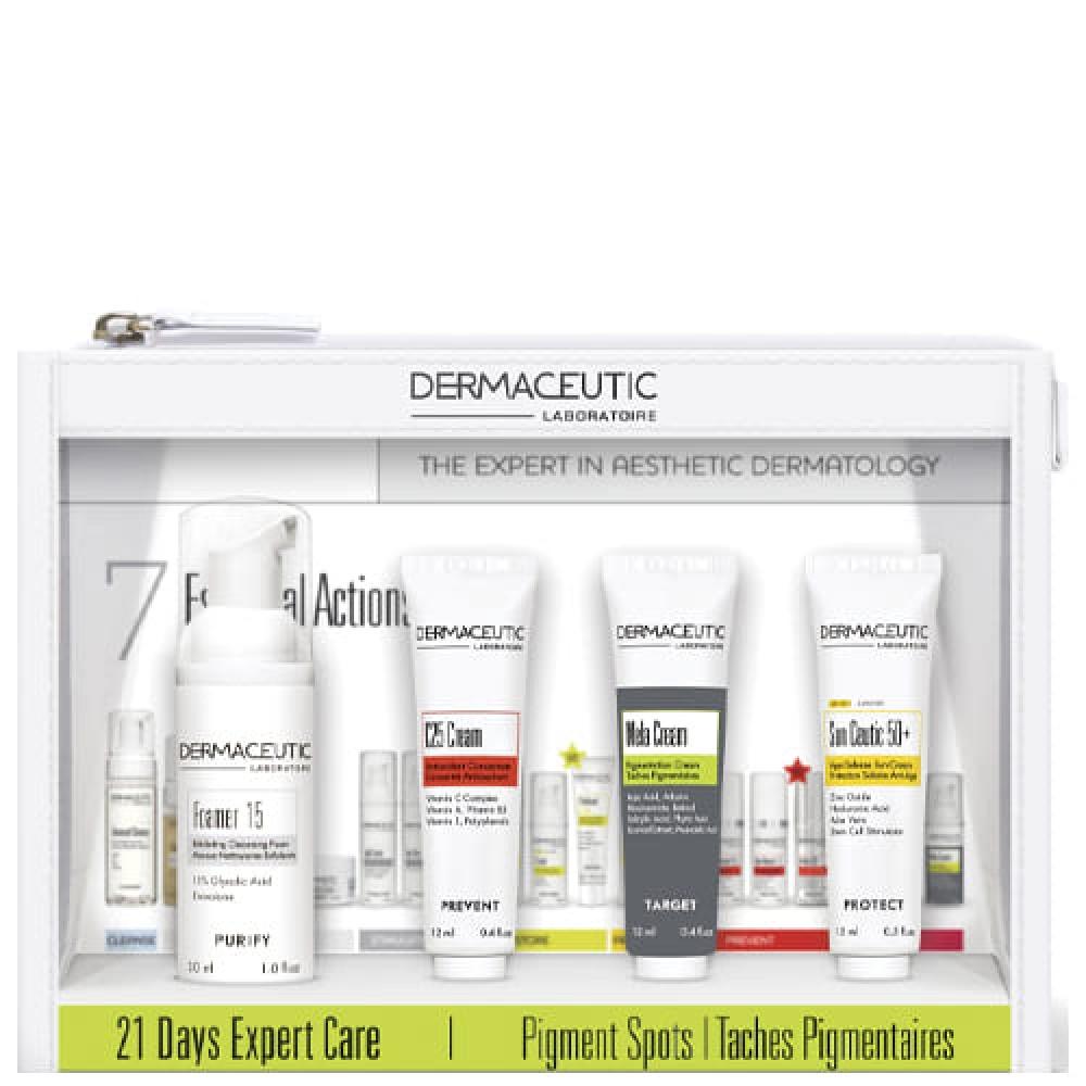 Депигментирующий набор Dermaceutic 21 Days Expert Care Pigment Spots