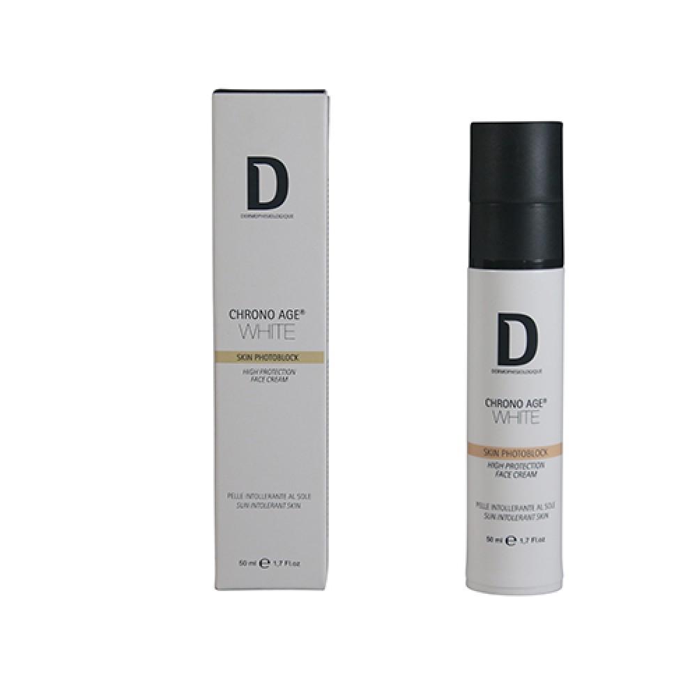 Защитный крем для лица против пигментации Dermophisiologique Skin PHOTOBLOCK High Protection SPF 30