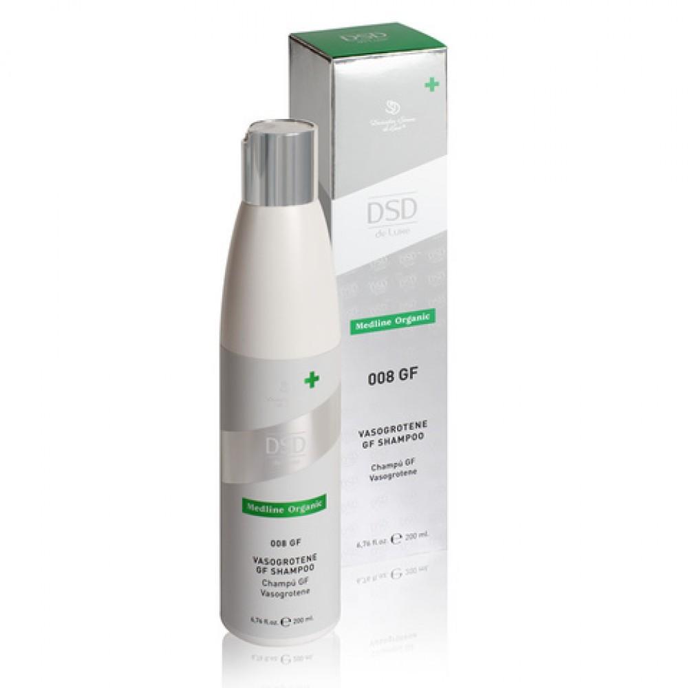 Безсульфатный шампунь с факторами роста №008 Simone Dixidox de Luxe Vasogrotene gf shampoo