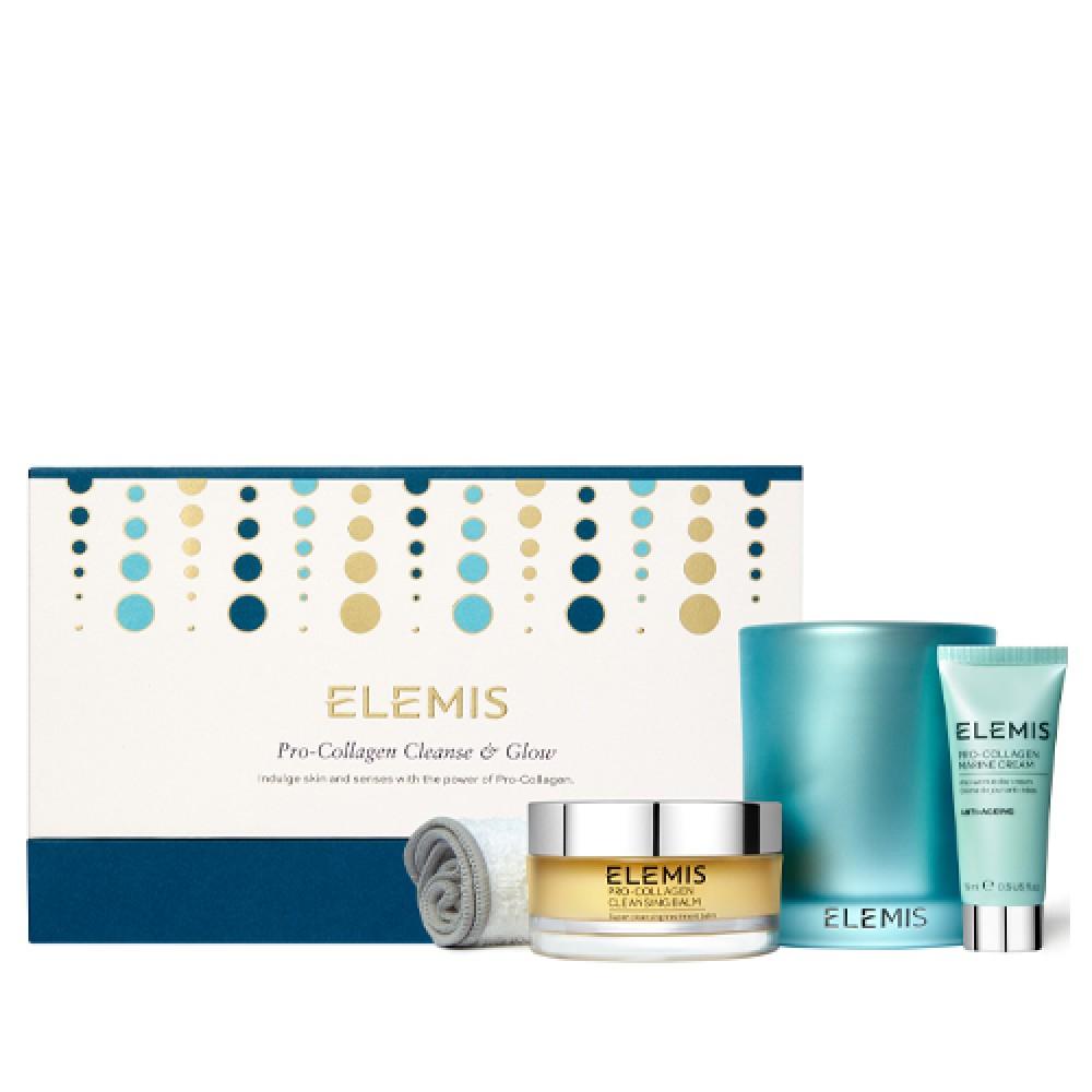 Набор Про-Коллаген Очищение-Сияние Elemis Pro-Collagen Cleanse and Glow