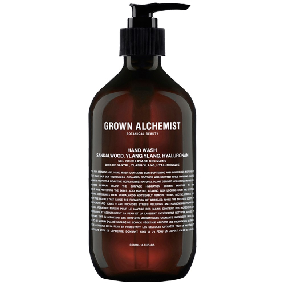 Жидкое мыло Grown Alchemist Hand Wash Sandalwood, Ylang Ylang, Hyaluronan