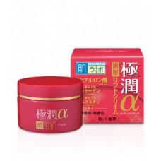 Антивозрастной гиалуроновый лифтинг крем HADA LABO Gokujyun Lifting Alpha Cream