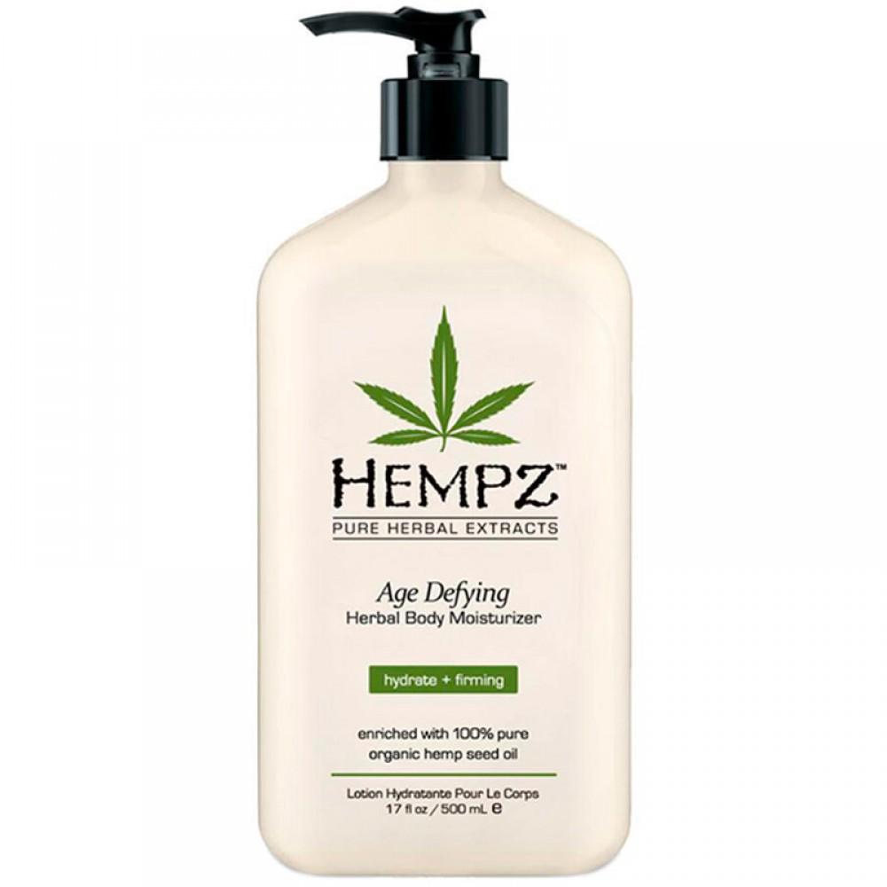 Антивозрастное увлажняющее молочко для тела Hempz Age Defying Herbal Moisturizer