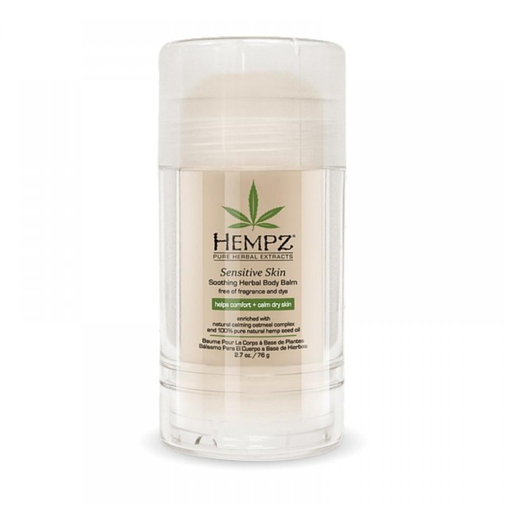 Бальзам для чувствительной кожи тела Увлажняющий Hempz Sensitive Skin Soothing Body Balm