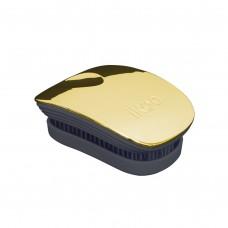 Компактная расческа ikoo pocket metallic soleil