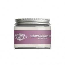 Антивозрастной дневной крем с маслом Ши для сухой и очень сухой кожи Institut Karite Paris Cotton Cloud Shea Anti Aging Day Cream