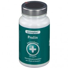 Аминокислота необходимая для выработки коллагена L-пролин с витамином С Kyberg Vital Aminoplus Prolin №60 (капсулы)
