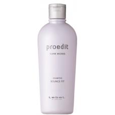 Восстанавливающий шампунь для сильно поврежденных, сухих, ломких волос Lebel Proedit Bounce Fit Shampoo