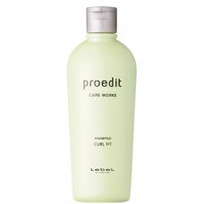 Восстанавливающий шампунь для тонких, сухих, непослушных и вьющихся волос Lebel Proedit Curl Fit Shampoo