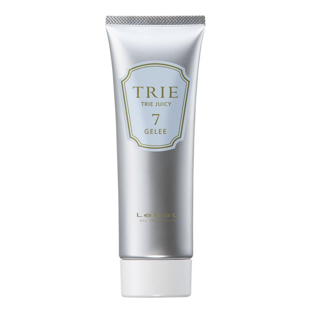 Гель-блеск для укладки волос сильной фиксации Lebel TRIE JUICY GELEE 7