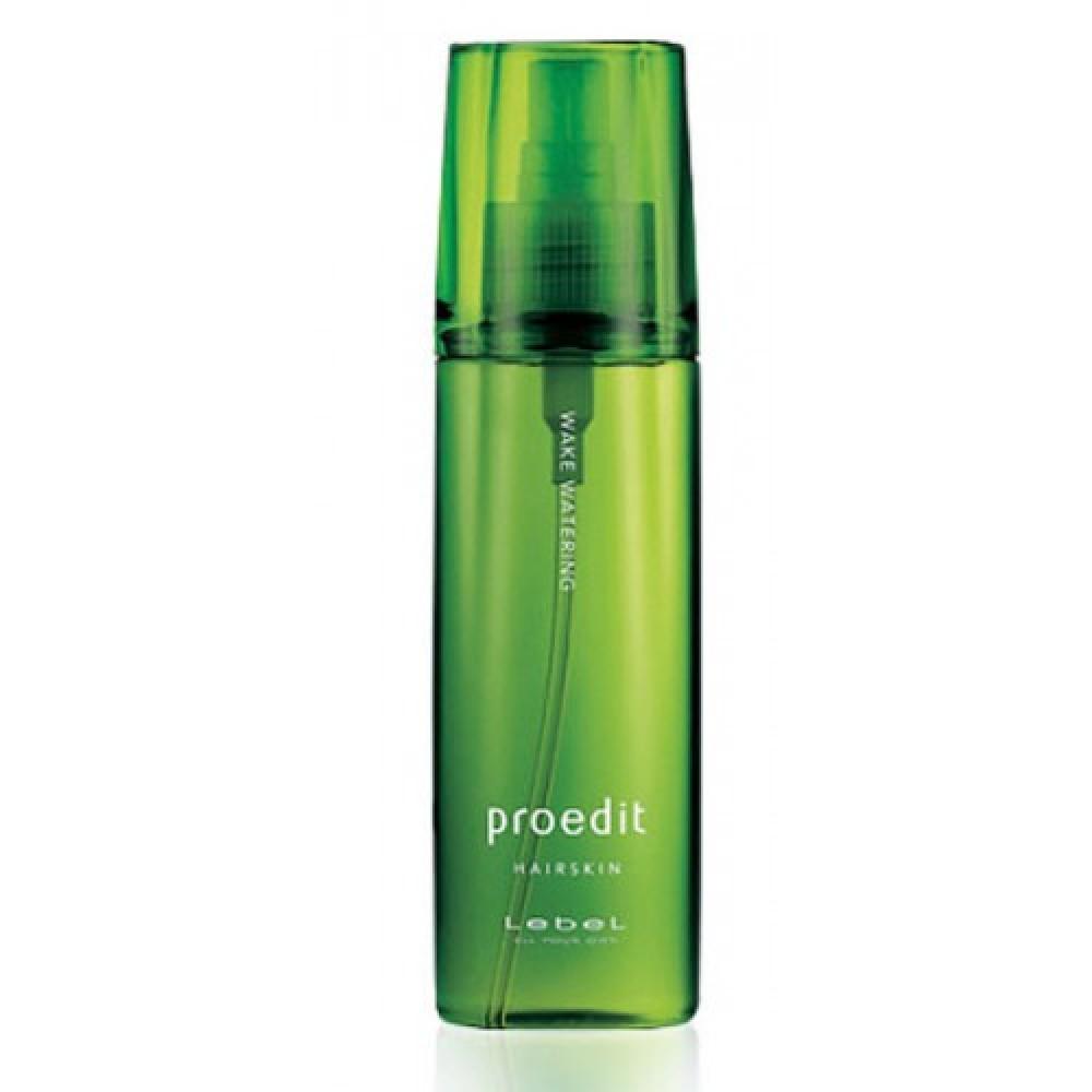 Бодрящий термальный спрей для кожи головы и волос Lebel Wake Watering