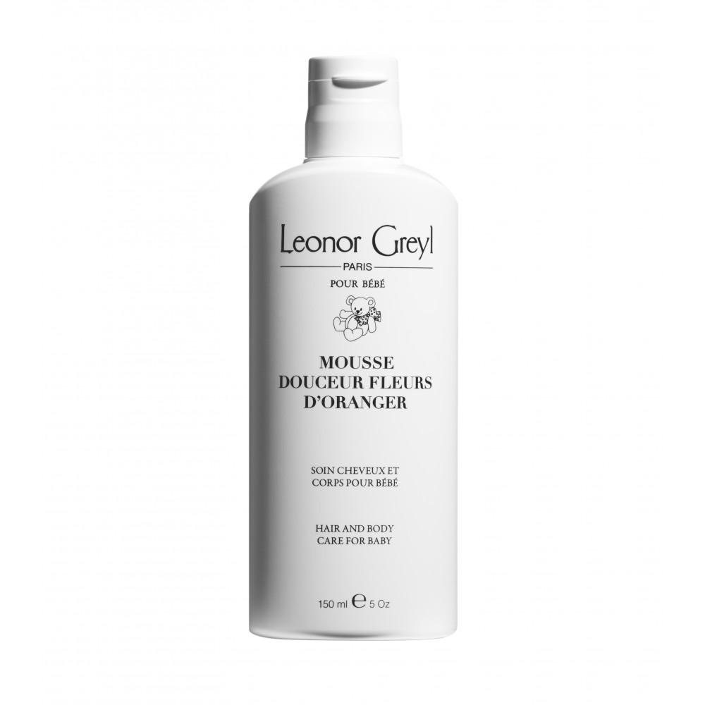 Детский шампунь для тела и волос Leonor Greyl Mousse Bebe Fleurs d'Oranger