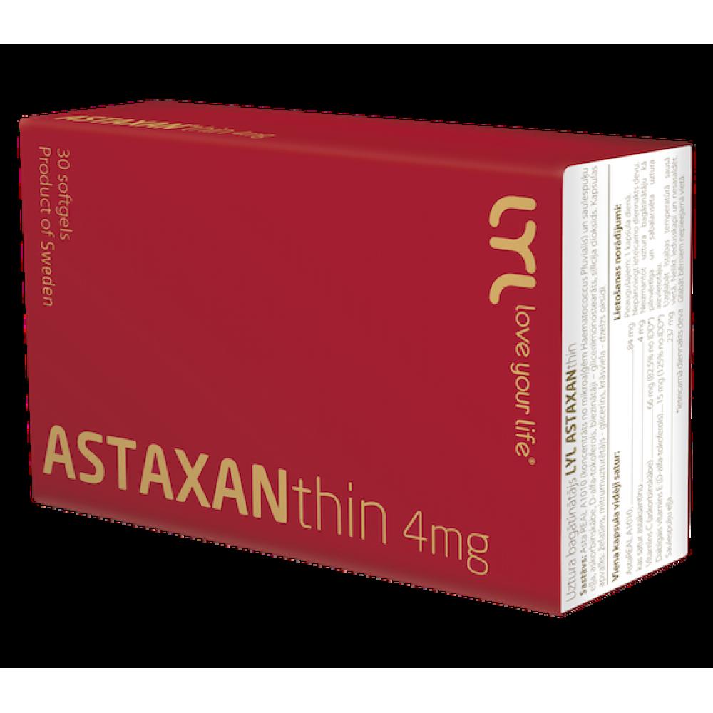 Kомплекс с мощным антиоксидативным действием LYL Astaxanthin