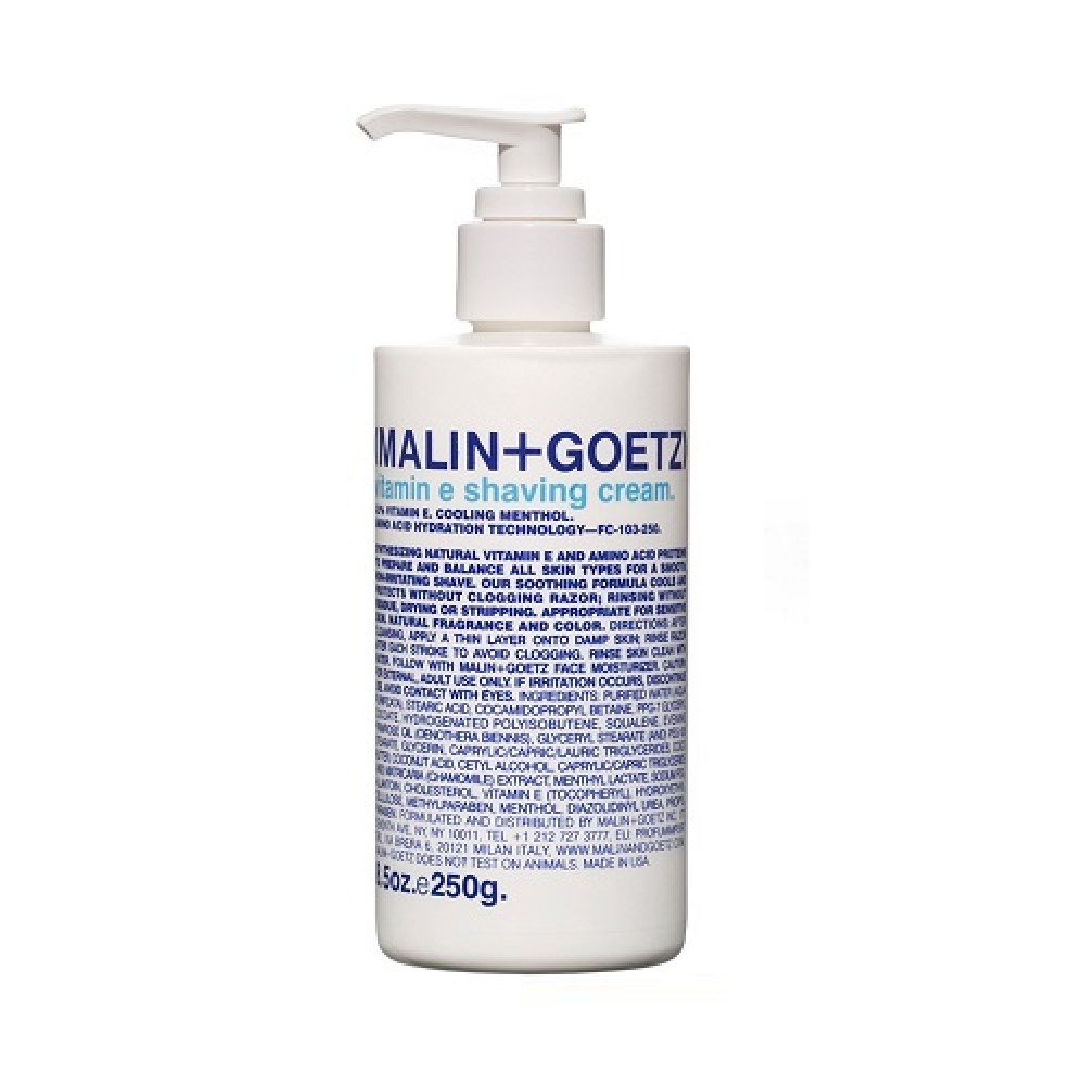 Крем для бритья Malin-Goetz Vitamin E Shaving Cream