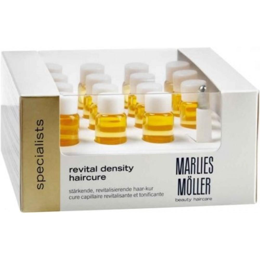 Концентрат для восстановления густоты волос Marlies Moller Revital Density Haircure