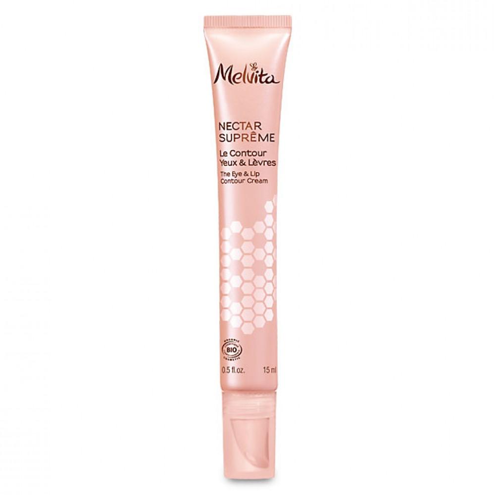 Крем для глаз и губ Melvita Nectar Supreme Organic Eye and Lip Contour Cream