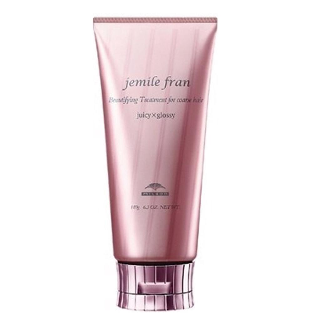 Бальзам-кондиционер для интенсивного увлажнения и создания глянцевых волос Milbon Jemile Fran Treatment Juicy+Glossy