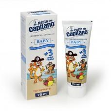 PDC зубная паста для детей 3+ Baby Tutti-frutti 75 ml.