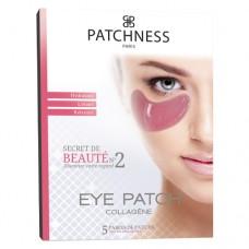 Подтягивающие патчи под глаза с коллагеном Patchness Eye Patch Pink