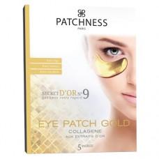 Антивозрастные патчи под глаза с экстрактом золота Patchness Eye Patch Gold
