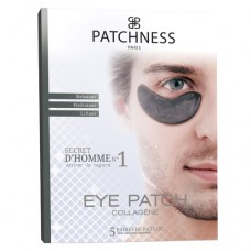 Подтягивающие и корректирующие патчи для мужчин Patchness Eye Patch Black