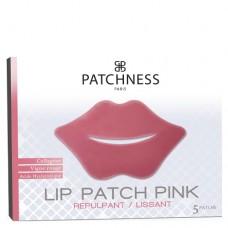 Патчи для увеличения обьема губ с коллагеном Patchness Lip Patch Pink