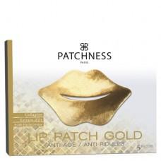 Ультраувлажняющие патчи для контура губ Patchness Lip Patch Gold