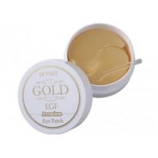 Гидрогелевые патчи для глаз с золотом и EGF - PETITFEE Premium Gold and EGF Eye Patch