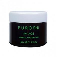 Антивозрастной крем для нормальной и сухой кожи Purophi My Age Normal and Dry Skin