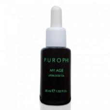 Антивозрастное масло-энергетик для зрелой кожи Purophi My Age Lifeblood Oil