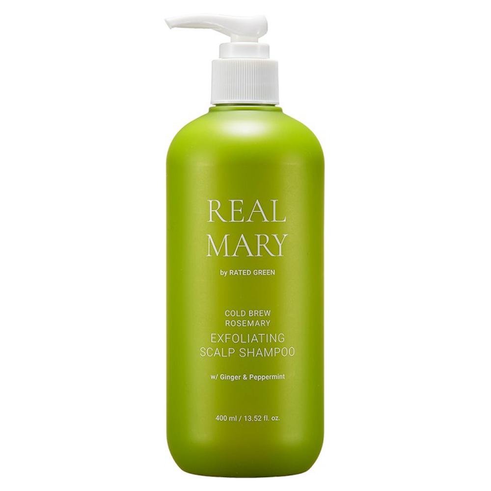 Глубоко очищающий шампунь с соком розмарина Rated Green Real Mary Exfoliating Scalp Shampoo