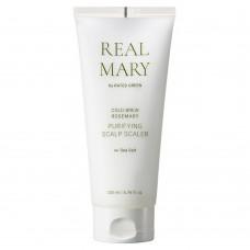 Глубоко очищающая маска для кожи головы с морской солью Rated Green Real Mary Purifying Scalp Scaler