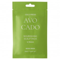 Питательная маска с маслом авокадо Rated Green Avocado Nourishing Scalp Pack Banana