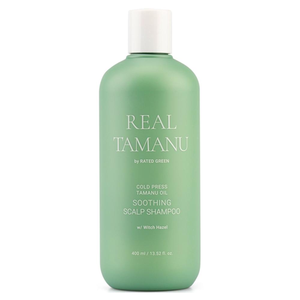 Успокаивающий шампунь с маслом таману Rated Green Real Tamanu Tamanu Oil Soothing Scalp Shampoo